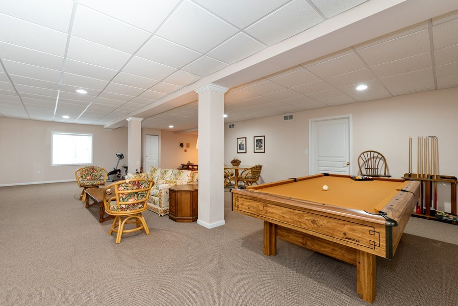 Real Estate Photography - 2544 Harvest Vly, Elgin, IL, 60124 - POOL TABLE STAYS TOO!