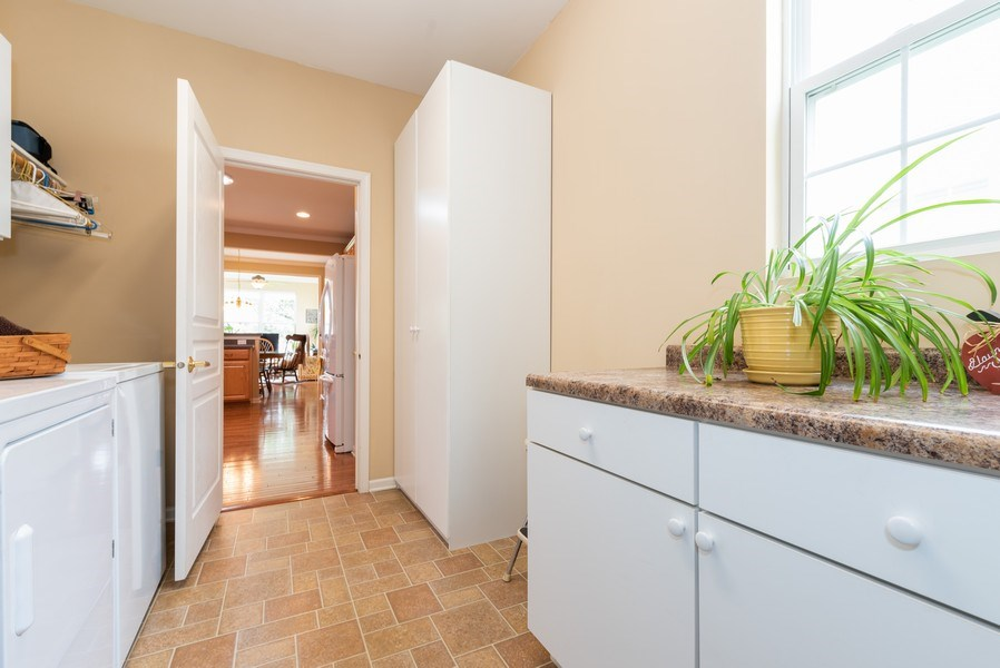 Real Estate Photography - 2544 Harvest Vly, Elgin, IL, 60124 - UTILITY ROOM WITH EXTRA CABINETS