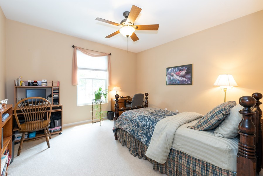 Real Estate Photography - 2544 Harvest Vly, Elgin, IL, 60124 - DEN OR BEDROOM (OR BOTH) WITH DOOR