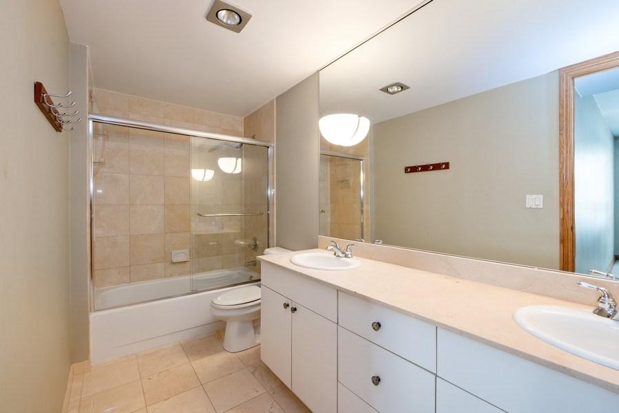 Real Estate Photography - 40 E. Delaware Place, Unit 503, Chicago, IL, 60611 - Master Bathroom