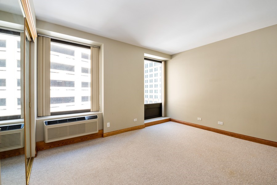 Real Estate Photography - 40 E. Delaware Place, Unit 503, Chicago, IL, 60611 - Bedroom
