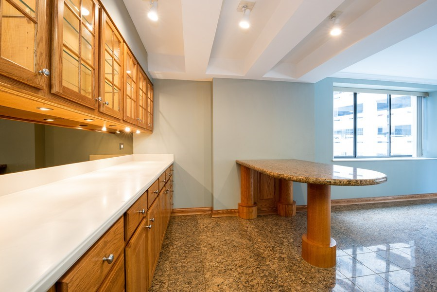 Real Estate Photography - 40 E. Delaware Place, Unit 503, Chicago, IL, 60611 - Dining Room