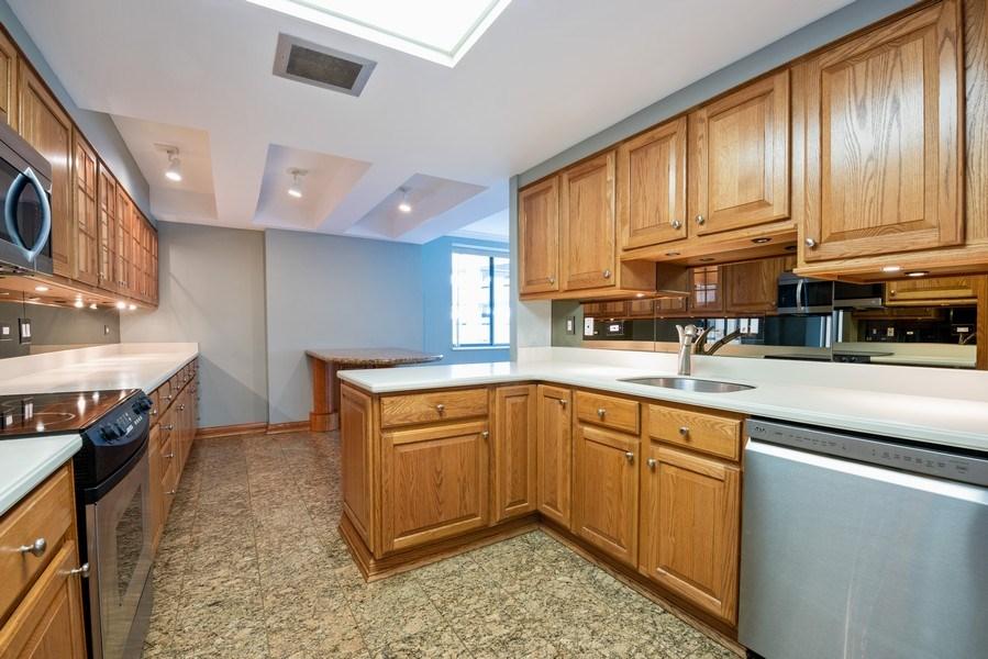 Real Estate Photography - 40 E. Delaware Place, Unit 503, Chicago, IL, 60611 - Kitchen