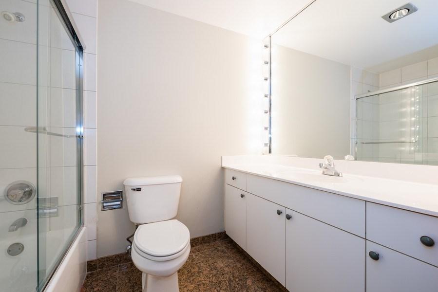 Real Estate Photography - 40 E. Delaware Place, Unit 503, Chicago, IL, 60611 - Bathroom