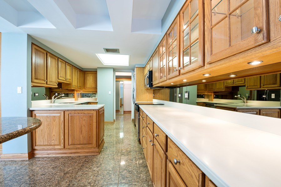 Real Estate Photography - 40 E. Delaware Place, Unit 503, Chicago, IL, 60611 - Kitchen / Dining Room