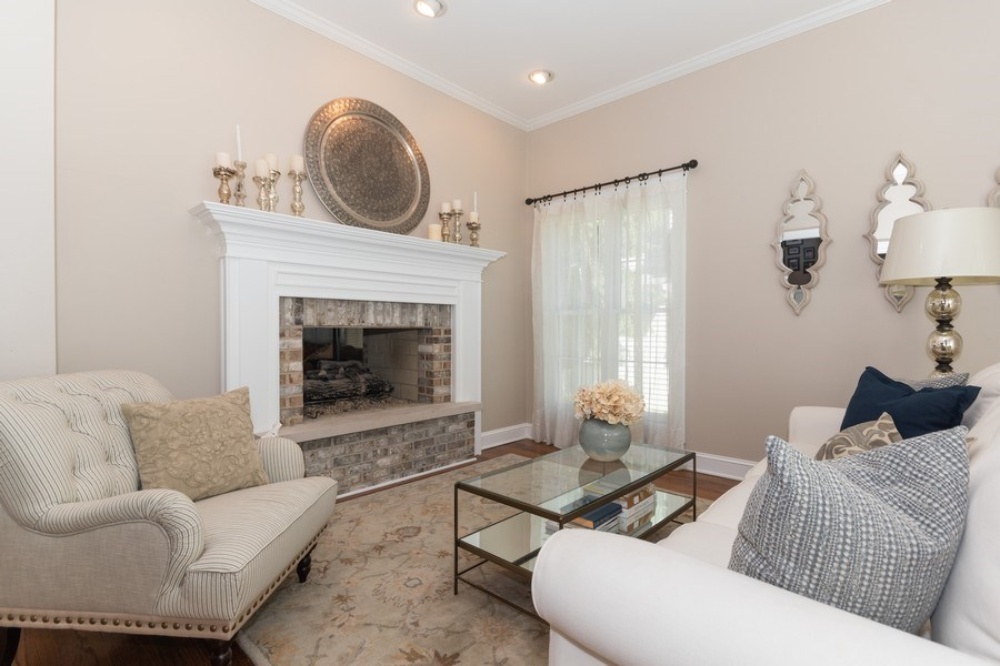 Real Estate Photography - 12 S. Quincy Street, Hinsdale, IL, 60521 - Living Room