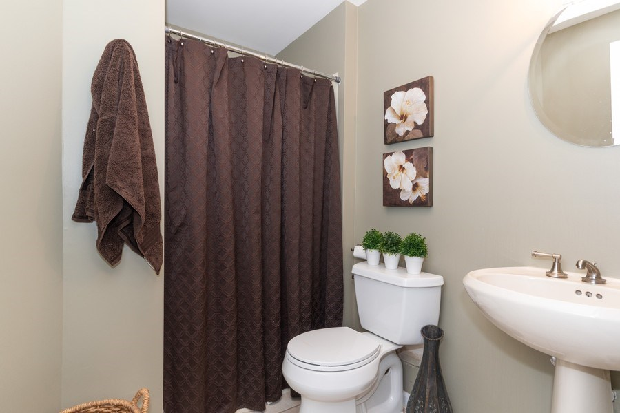 Real Estate Photography - 12 S. Quincy Street, Hinsdale, IL, 60521 - 3rd Bathroom