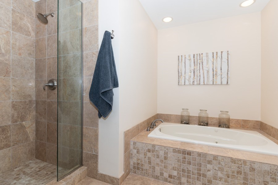Real Estate Photography - 12 S. Quincy Street, Hinsdale, IL, 60521 - Master Bathroom