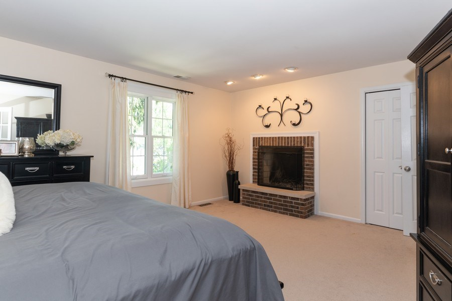 Real Estate Photography - 12 S. Quincy Street, Hinsdale, IL, 60521 - Master Bedroom