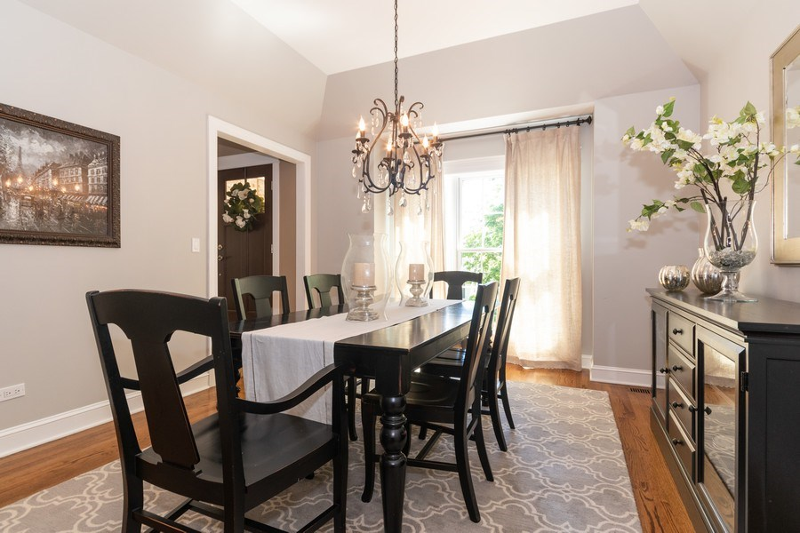 Real Estate Photography - 12 S. Quincy Street, Hinsdale, IL, 60521 - Dining Room