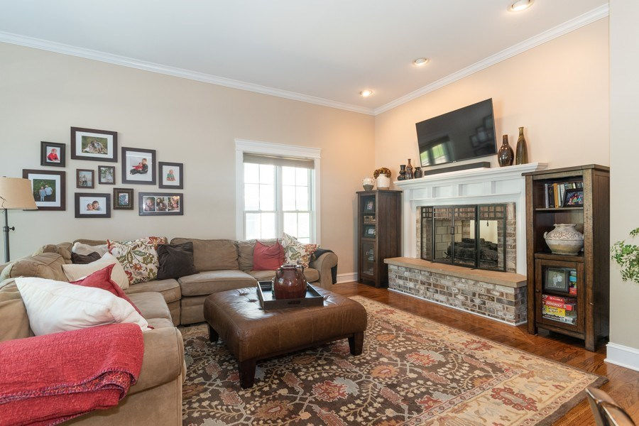 Real Estate Photography - 12 S. Quincy Street, Hinsdale, IL, 60521 - Family Room
