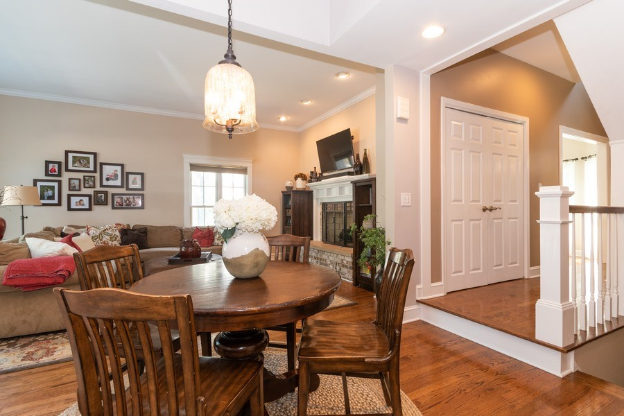 Real Estate Photography - 12 S. Quincy Street, Hinsdale, IL, 60521 - Breakfast Area