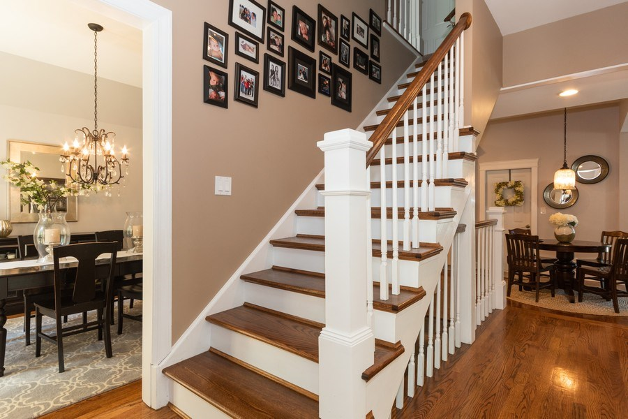 Real Estate Photography - 12 S. Quincy Street, Hinsdale, IL, 60521 - Staircase