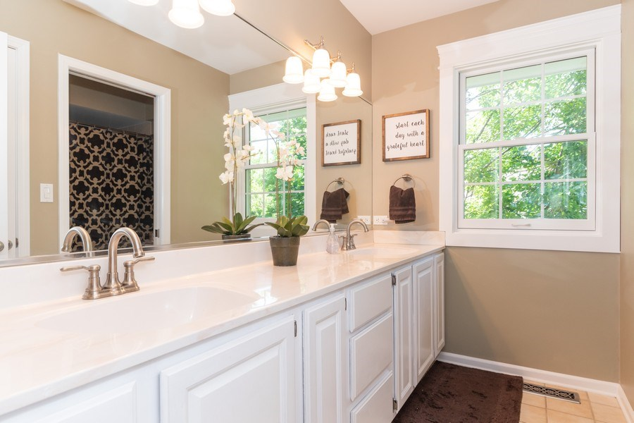 Real Estate Photography - 12 S. Quincy Street, Hinsdale, IL, 60521 - Bathroom