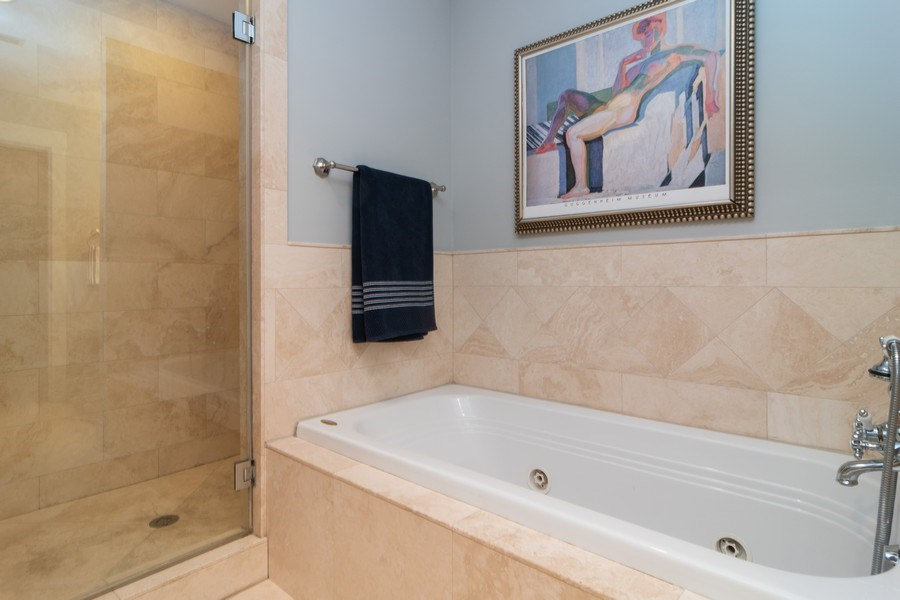 Real Estate Photography - 725 Belleforte Avenue, Oak Park, IL, 60302 - Master Bathroom