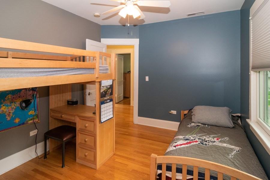 Real Estate Photography - 725 Belleforte Avenue, Oak Park, IL, 60302 - 3rd Bedroom