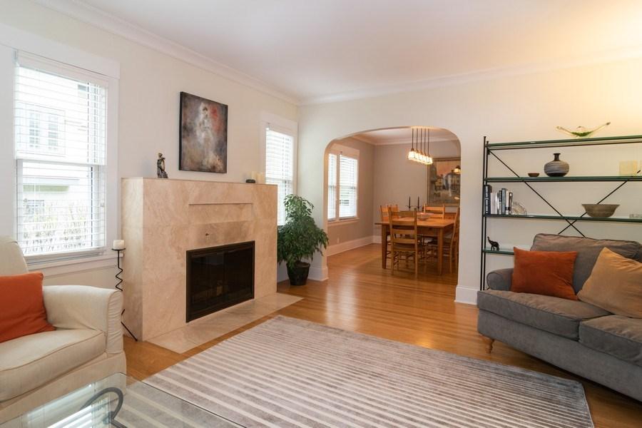 Real Estate Photography - 725 Belleforte Avenue, Oak Park, IL, 60302 - Living Room