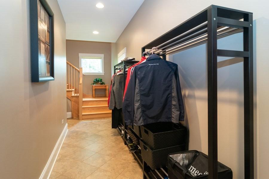 Real Estate Photography - 725 Belleforte Avenue, Oak Park, IL, 60302 - Mudroom/hall entrance to apartment