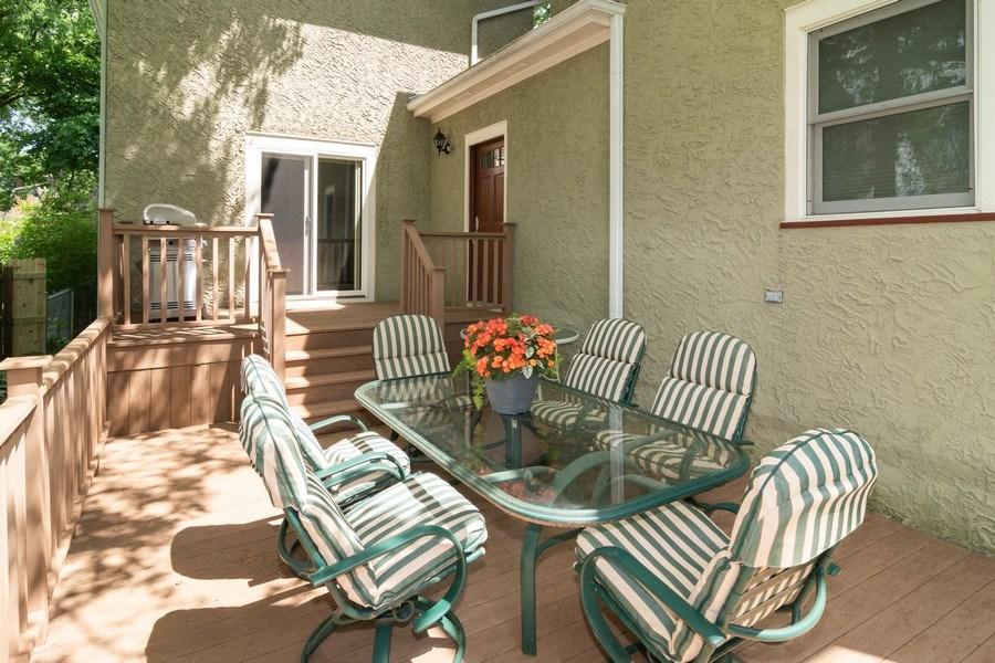 Real Estate Photography - 725 Belleforte Avenue, Oak Park, IL, 60302 - Deck