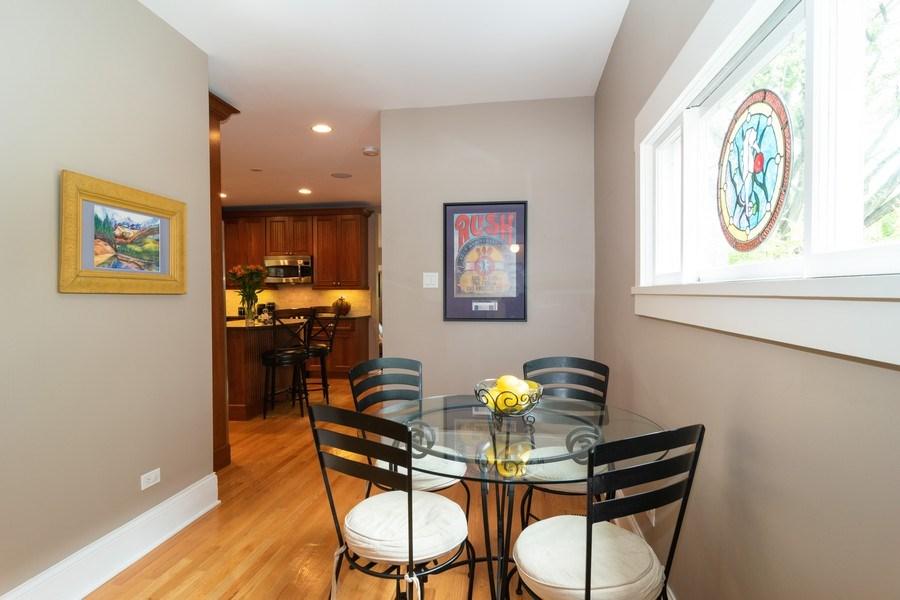 Real Estate Photography - 725 Belleforte Avenue, Oak Park, IL, 60302 - Breakfast room