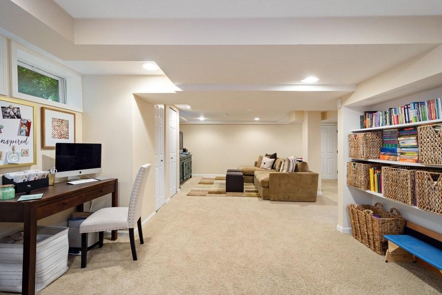 Real Estate Photography - 215 Coolidge Avenue, Barrington, IL, 60010 - Rec Room