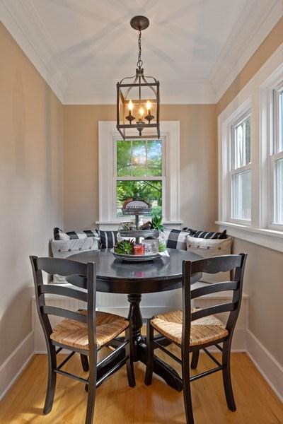 Real Estate Photography - 215 Coolidge Avenue, Barrington, IL, 60010 - Breakfast Area