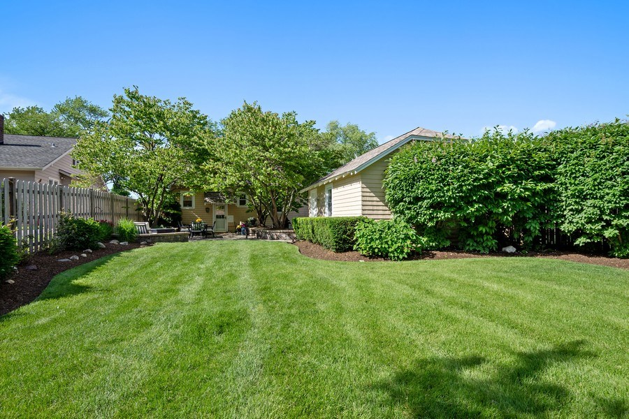 Real Estate Photography - 215 Coolidge Avenue, Barrington, IL, 60010 - Rear View