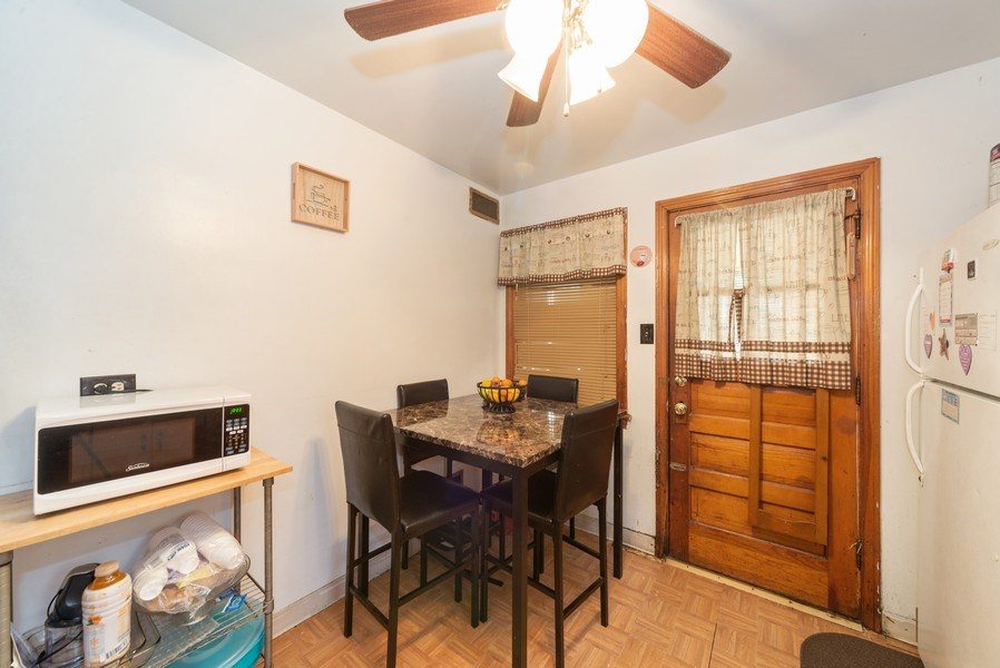 Real Estate Photography - 329 46th Avenue, Bellwood, IL, 60104 - Breakfast Nook