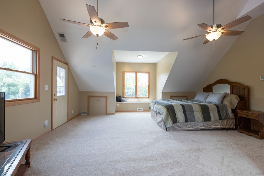 Real Estate Photography - 27160 West Sunset Ave, Antioch, IL, 60002 - Master Bedroom