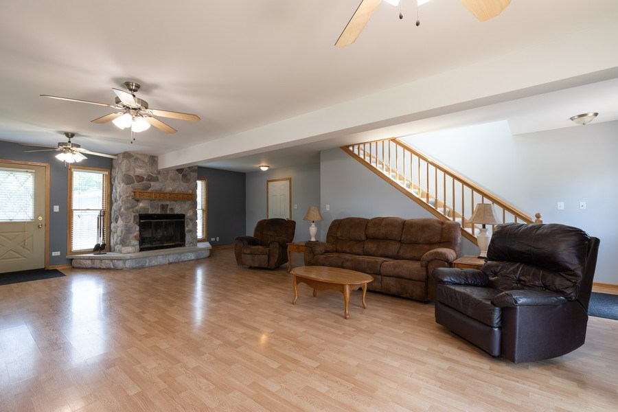 Real Estate Photography - 27160 West Sunset Ave, Antioch, IL, 60002 - Family Room