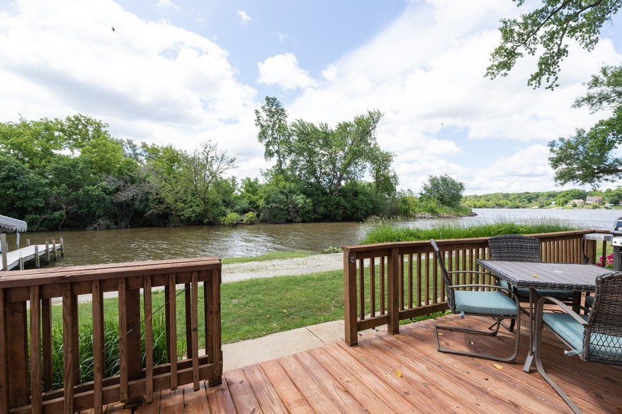 Real Estate Photography - 27160 West Sunset Ave, Antioch, IL, 60002 - Deck