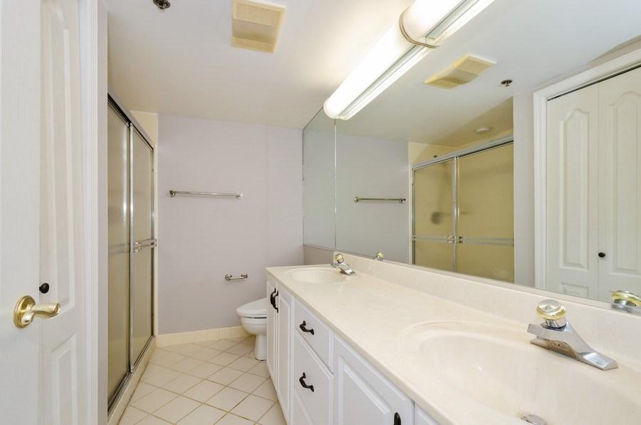 Real Estate Photography - 6411 Lincoln Avenue, Unit 503, Morton Grove, IL, 60053 - Master Bathroom