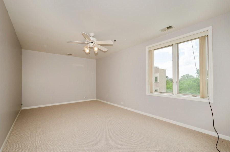 Real Estate Photography - 6411 Lincoln Avenue, Unit 503, Morton Grove, IL, 60053 - Master Bedroom