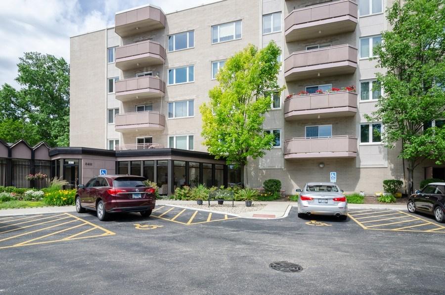 Real Estate Photography - 6411 Lincoln Avenue, Unit 503, Morton Grove, IL, 60053 - Front View