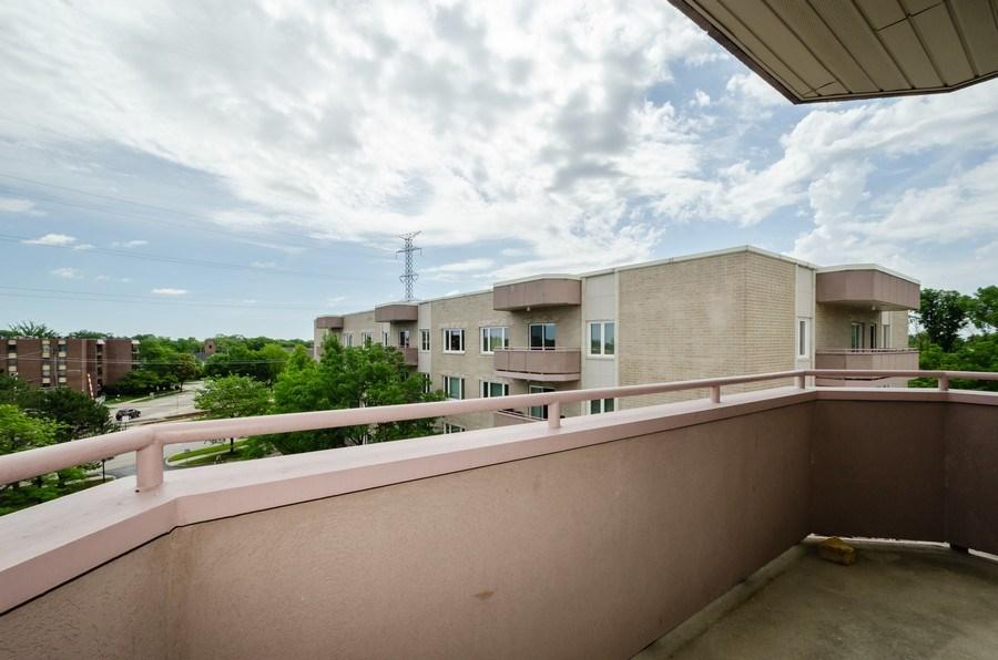 Real Estate Photography - 6411 Lincoln Avenue, Unit 503, Morton Grove, IL, 60053 - Balcony