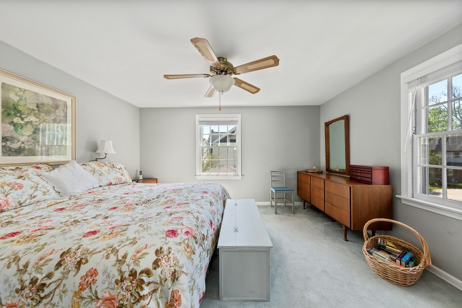 Real Estate Photography - 382 Ridgewood Avenue, Glen Ellyn, IL, 60137 - Master Bedroom