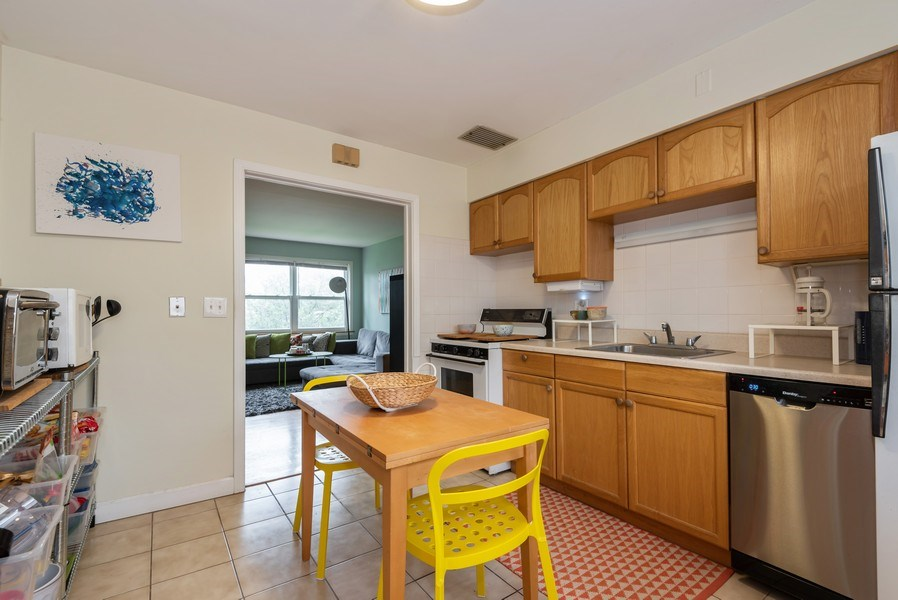 Real Estate Photography - 926 Harlem Ave, Glenview, IL, 60025 - Kitchen