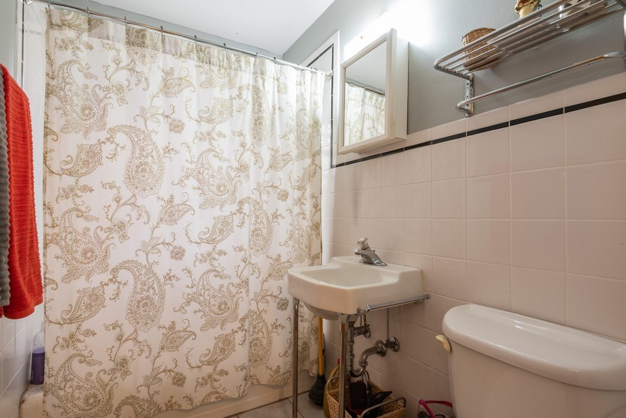 Real Estate Photography - 926 Harlem Ave, Glenview, IL, 60025 - Bathroom
