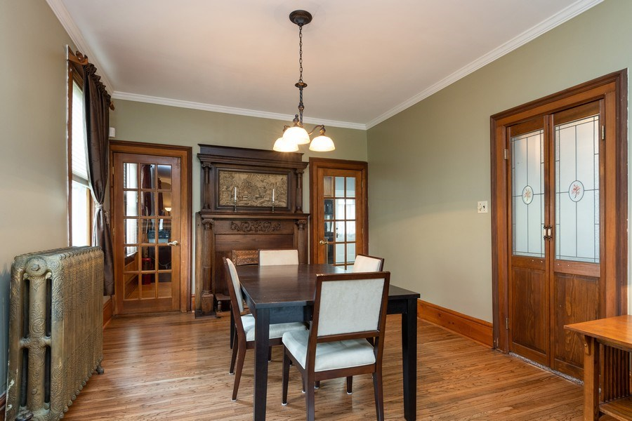Real Estate Photography - 425 Grant Place, Aurora, IL, 60505 - Dining Room