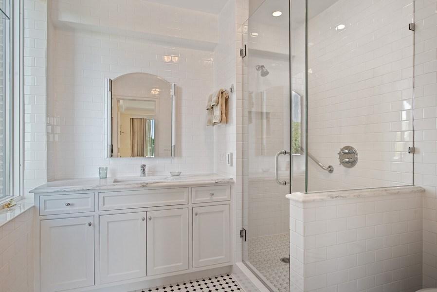 Real Estate Photography - 179 E. LAKE SHORE Drive, Unit 501, Chicago, IL, 60611 - Master Bathroom