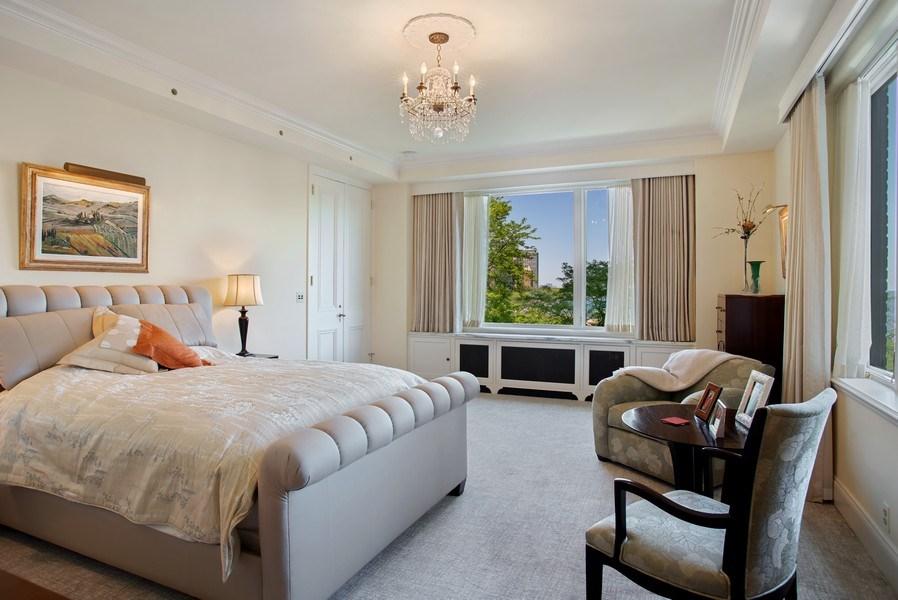 Real Estate Photography - 179 E. LAKE SHORE Drive, Unit 501, Chicago, IL, 60611 - Master Bedroom