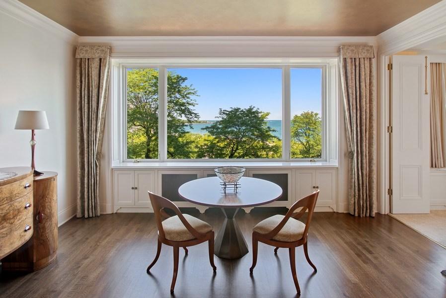 Real Estate Photography - 179 E. LAKE SHORE Drive, Unit 501, Chicago, IL, 60611 - Dining Room