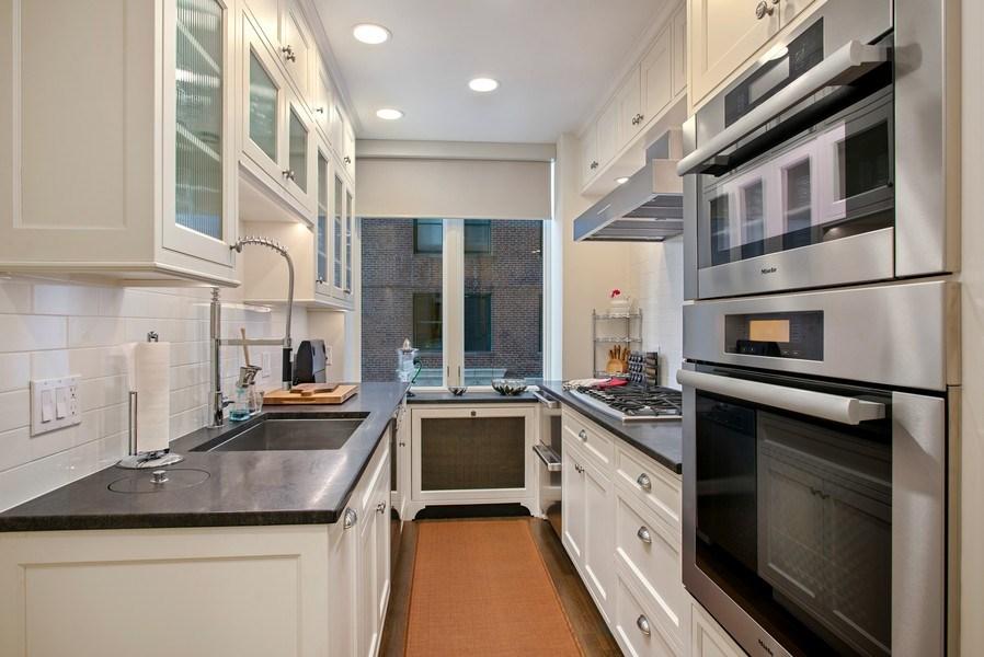Real Estate Photography - 179 E. LAKE SHORE Drive, Unit 501, Chicago, IL, 60611 - Kitchen