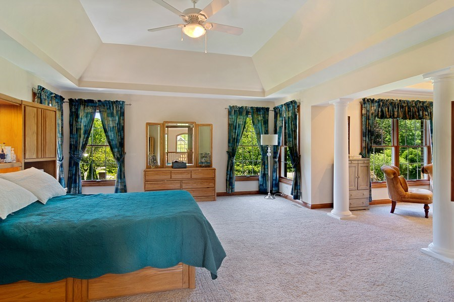 Real Estate Photography - 117 LUCY Court, Lake Zurich, IL, 60047 - Master Bedroom