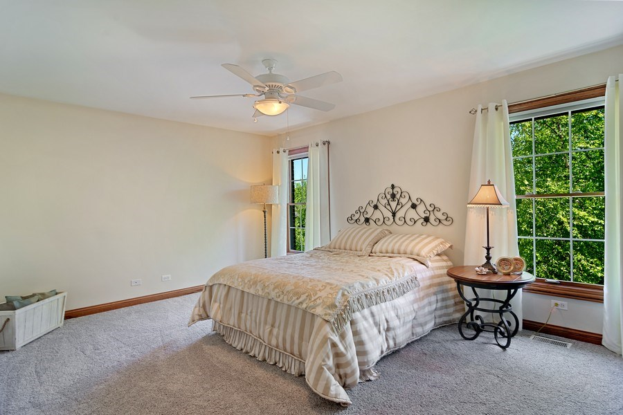 Real Estate Photography - 117 LUCY Court, Lake Zurich, IL, 60047 - 3rd Bedroom