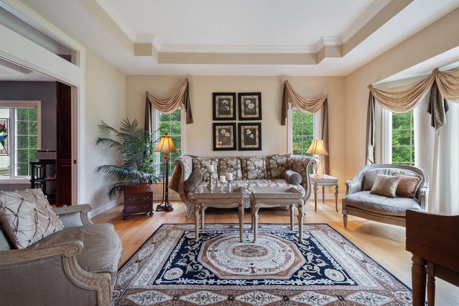 Real Estate Photography - 20948 W. High Ridge Drive, Kildeer, IL, 60047 - Living Room