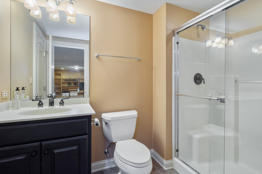 Real Estate Photography - 20948 W. High Ridge Drive, Kildeer, IL, 60047 - 4th Bathroom