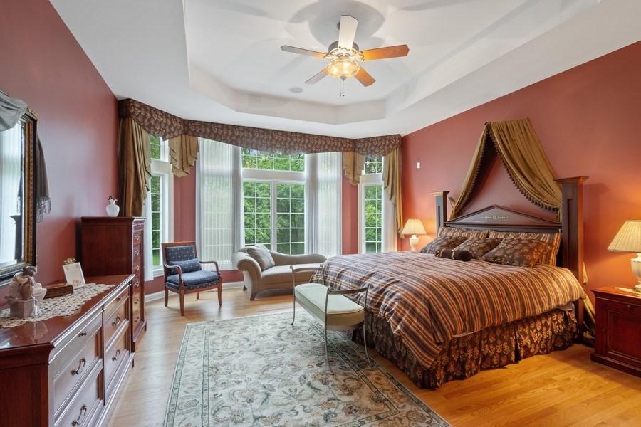 Real Estate Photography - 20948 W. High Ridge Drive, Kildeer, IL, 60047 - Master Bedroom