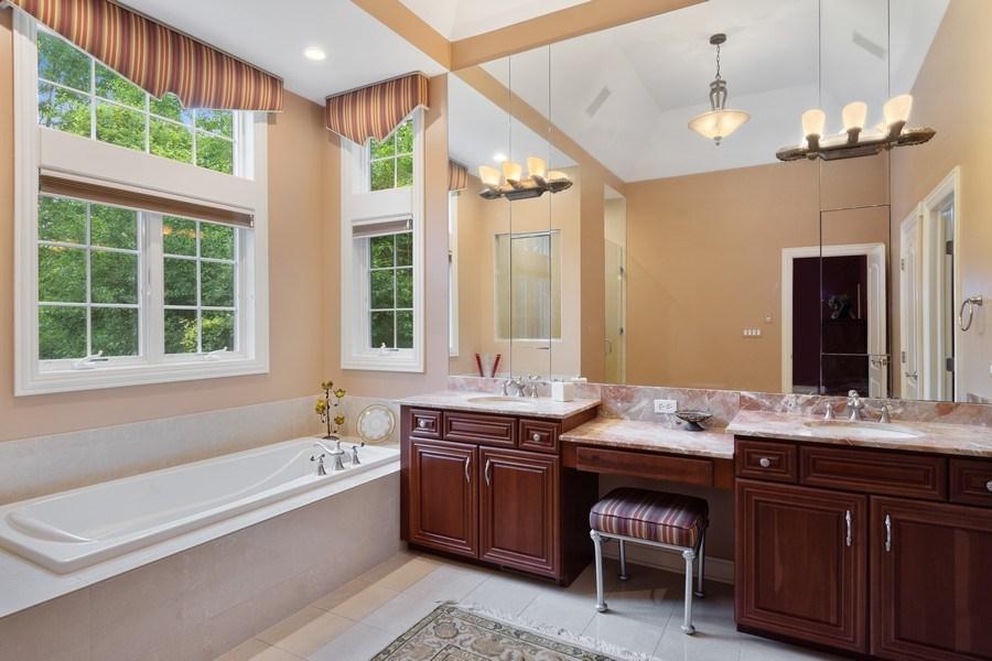 Real Estate Photography - 20948 W. High Ridge Drive, Kildeer, IL, 60047 - Master Bathroom