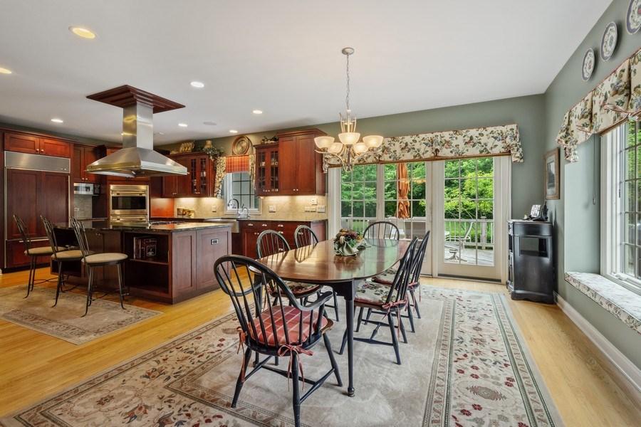 Real Estate Photography - 20948 W. High Ridge Drive, Kildeer, IL, 60047 - Kitchen / Breakfast Room